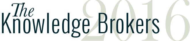 2016 knowledge brokers