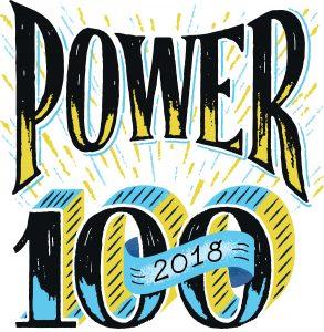 Power 100 2018 Logo