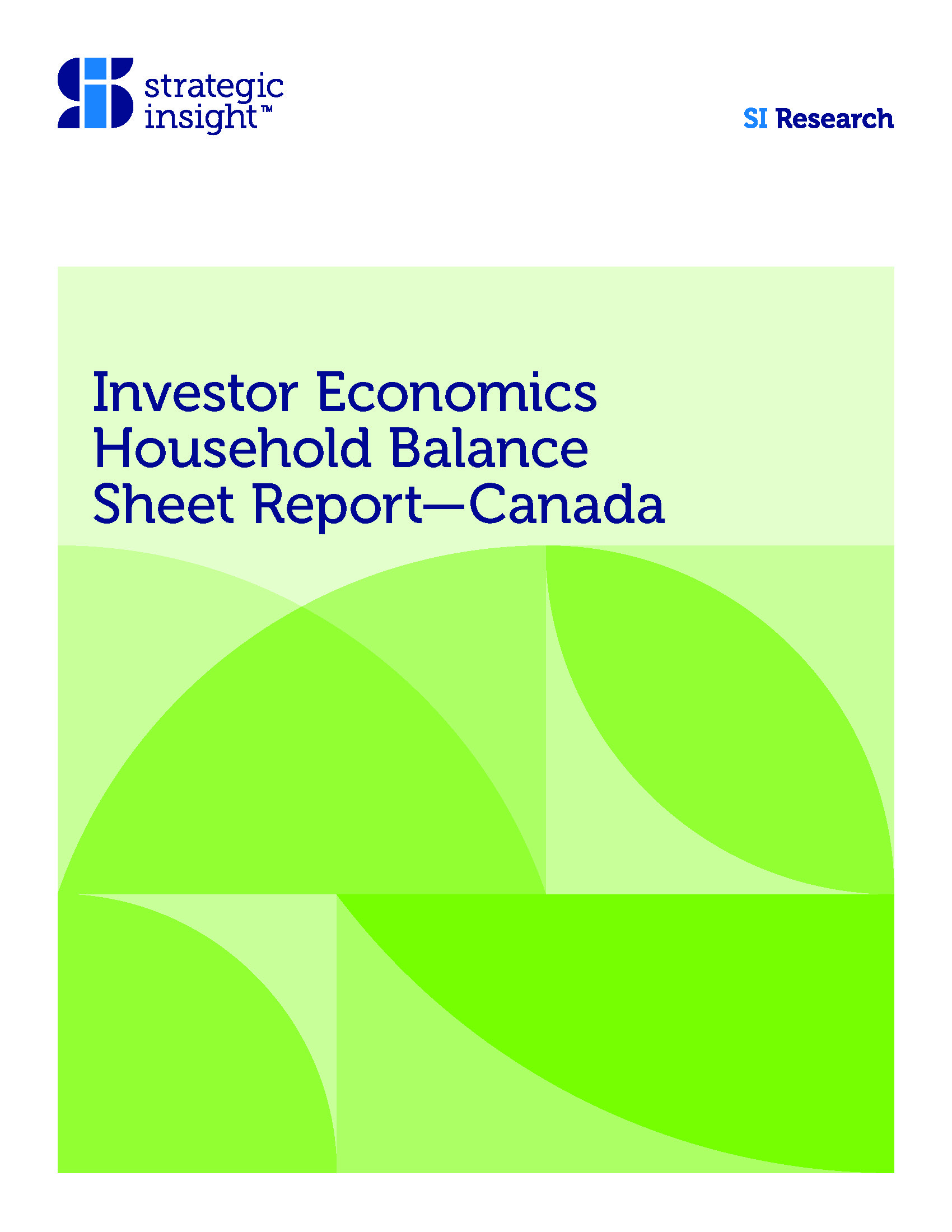 Household Balance Sheet 2018 Update and Rebased Forecast