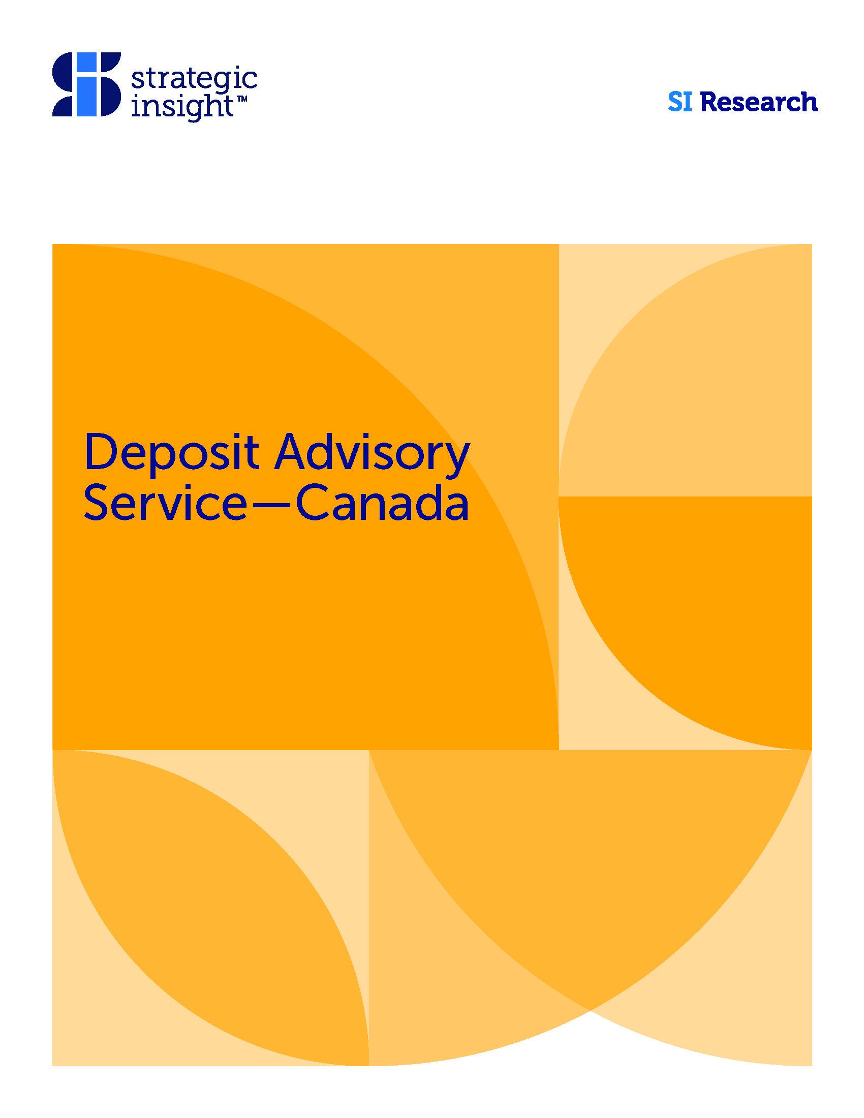 Deposit Advisory Service Spring 2019