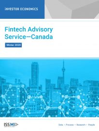 Fintech Advisory Service Winter 2020