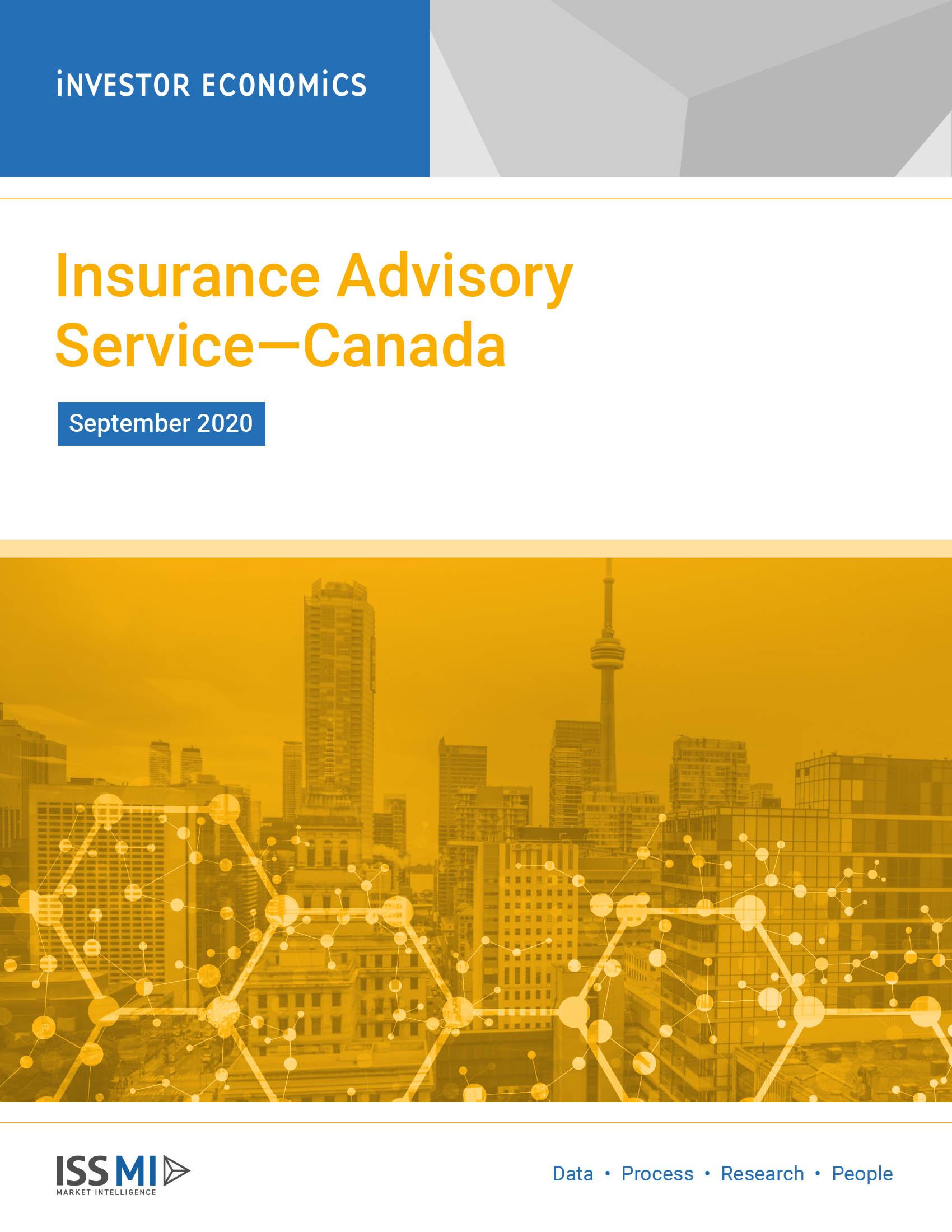 Insurance Advisory Service September 2020