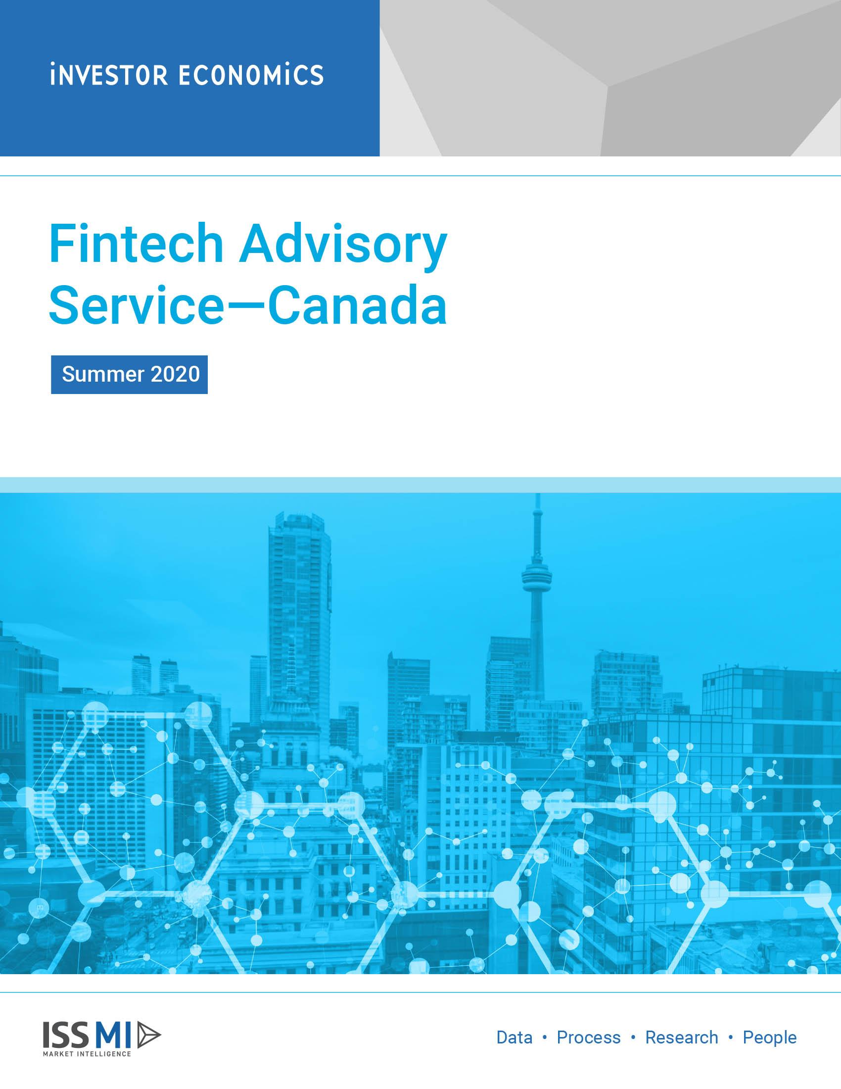 Fintech Advisory Service Summer 2020