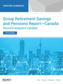 Group Retirement Savings and Pensions Report—Record-keepers Update 2019