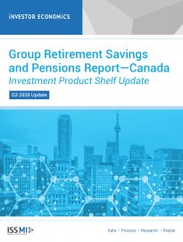 Group Retirement Savings and Pensions Report—Investment Product Shelf Update Q3 2020