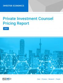2021 Private Investment Counsel Pricing Report