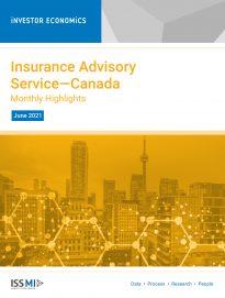 Insurance Advisory Service June 2021—Monthly Highlights