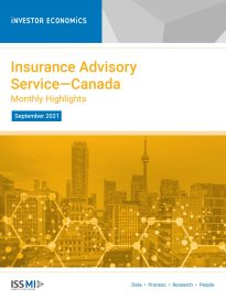 Insurance Advisory Service September 2021—Monthly Highlights