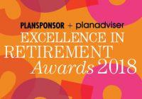 2018 PLANSPONSOR / PLANADVISER Excellence in Retirement Awards Dinner