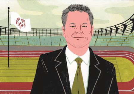 Advisers Giving Back: Gallagher and the Special Olympics