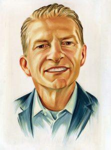 Portrait of Ritch Wood by Chris Buzelli
