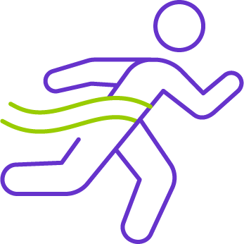 person running icon